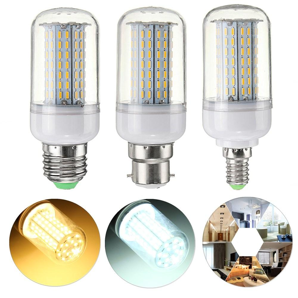 Dimmable E27 E14 B22 9W SMD4014 LEDトウモロコシ電球AC110V