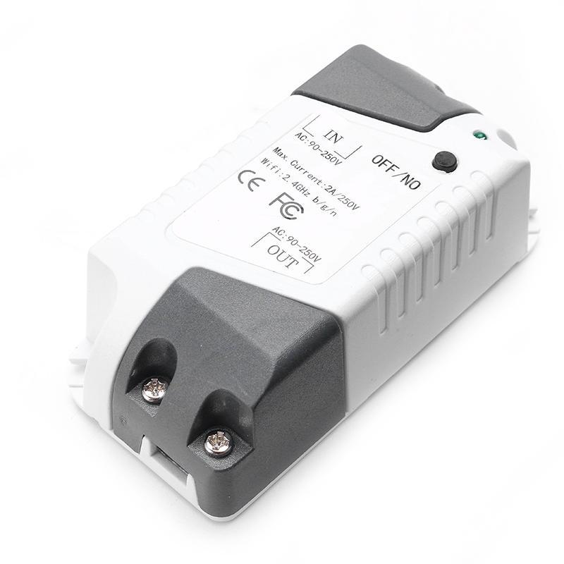 EJLink LX-00G DIY Wi-Fi Wireless Smart Switch Module de contrôle à distance pour Smart Home Work avec Alexa Supporting Android et IOS System Free App