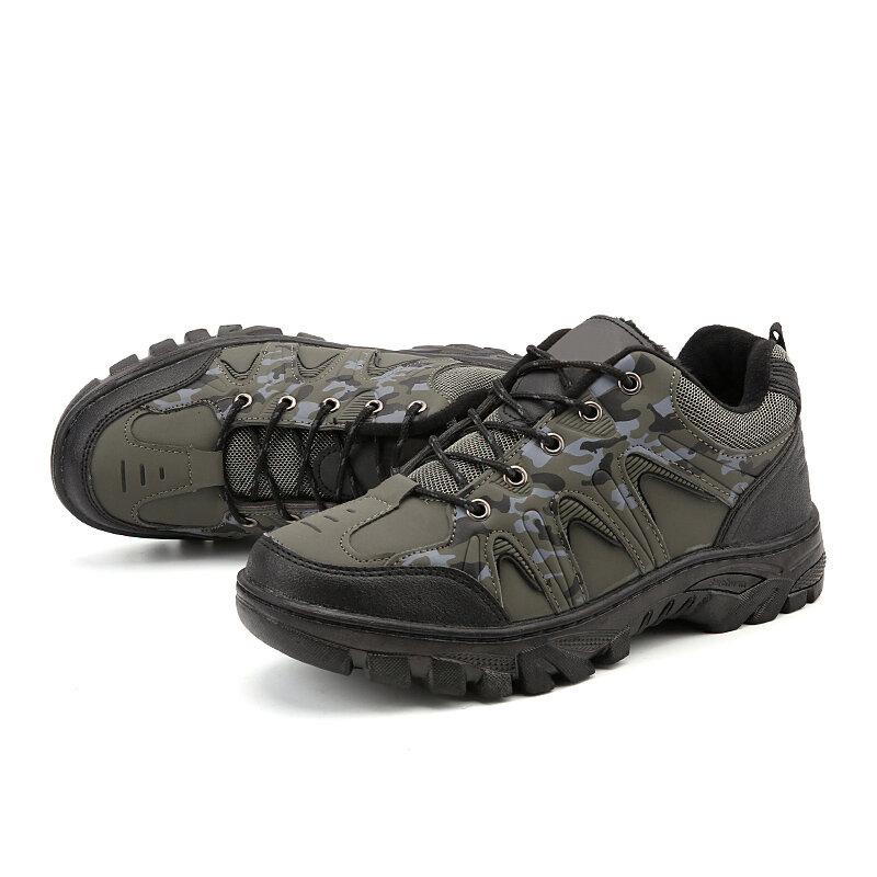 На открытом воздухе Мужская обувь Breathable Windproof Climbing Водонепроницаемы Противоскользящие износостойкие кроссовки для путешествий