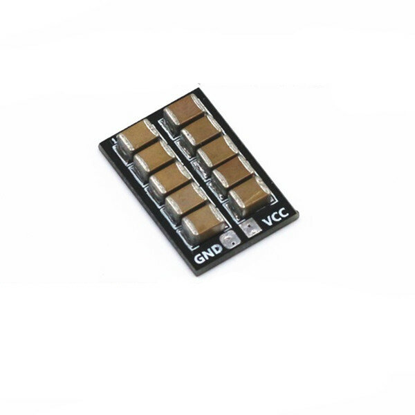 V2.0 470uF Anti-interference Parallel Capacitor Plate Capaciteit Board 1-6S LiPo Voor Mini ESC