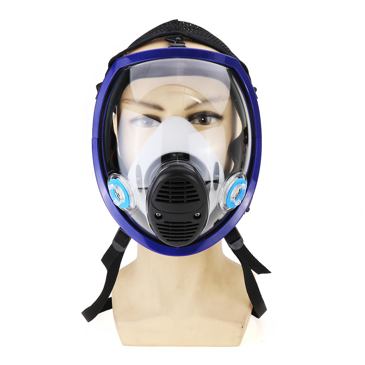 Careful Full Face Mask For 6800 Gas Mask Full Face Facepiece Respirator For Painting Spraying Free Shipping Party Masks Festive & Party Supplies
