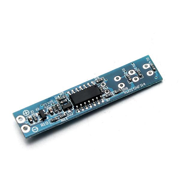 2S 3S 4S 5S Lipo แบตเตอรี่ แรงดันไฟฟ้า แสดงผล แผงตัวบ่งชี้โพลาเมอร์คณะกรรมการแสดงดัชนี