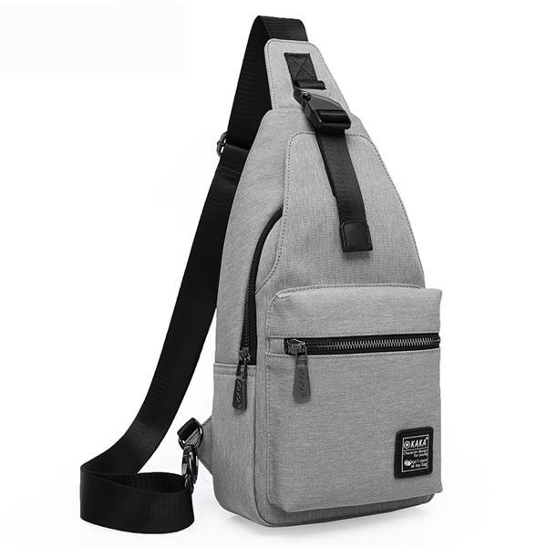 KAKA® Herenmode Chest Pack Grote Capaciteit Swagger Bag Crossbody Travel Bag