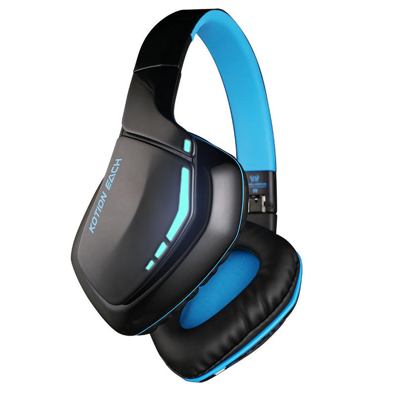 KOTION EACH B3506 Wireless Bluetooth Headset Foldable Gaming Cuffie Stereo  Headphone with Mic COD bb61cf85f850