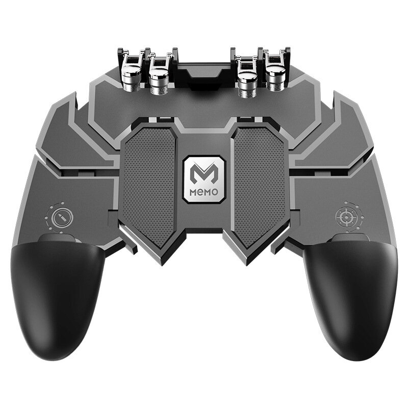 064c811b9 Gamepad Joystick Game Controller for PUBG Mobile Game for IOS Android Phone  - Black COD