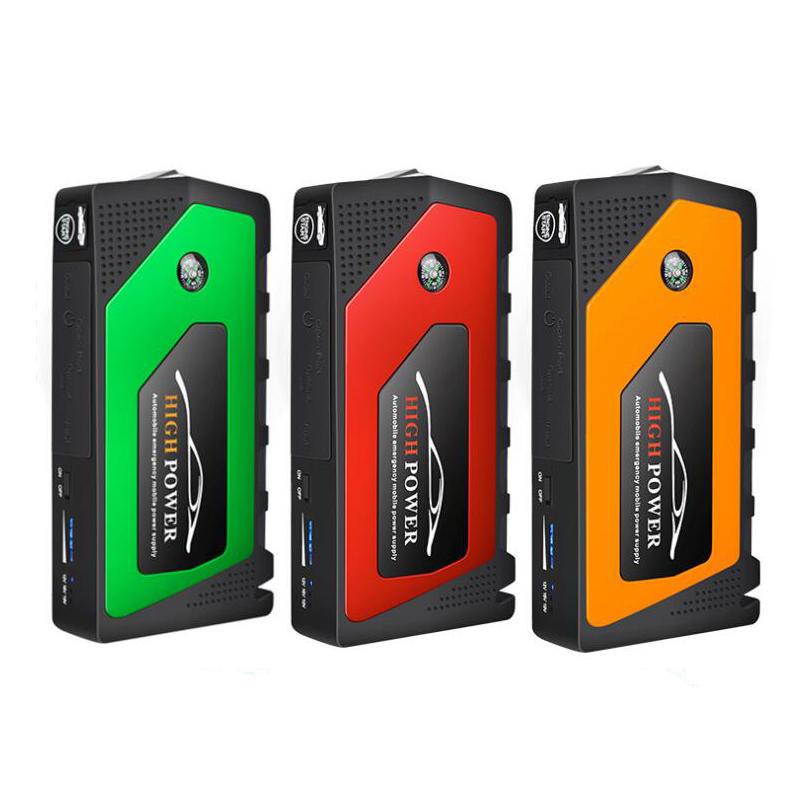 18000mAh Portable 4 Ports USB Hub Battery Charger Starting Device Petrol Diesel Car Jump Starter