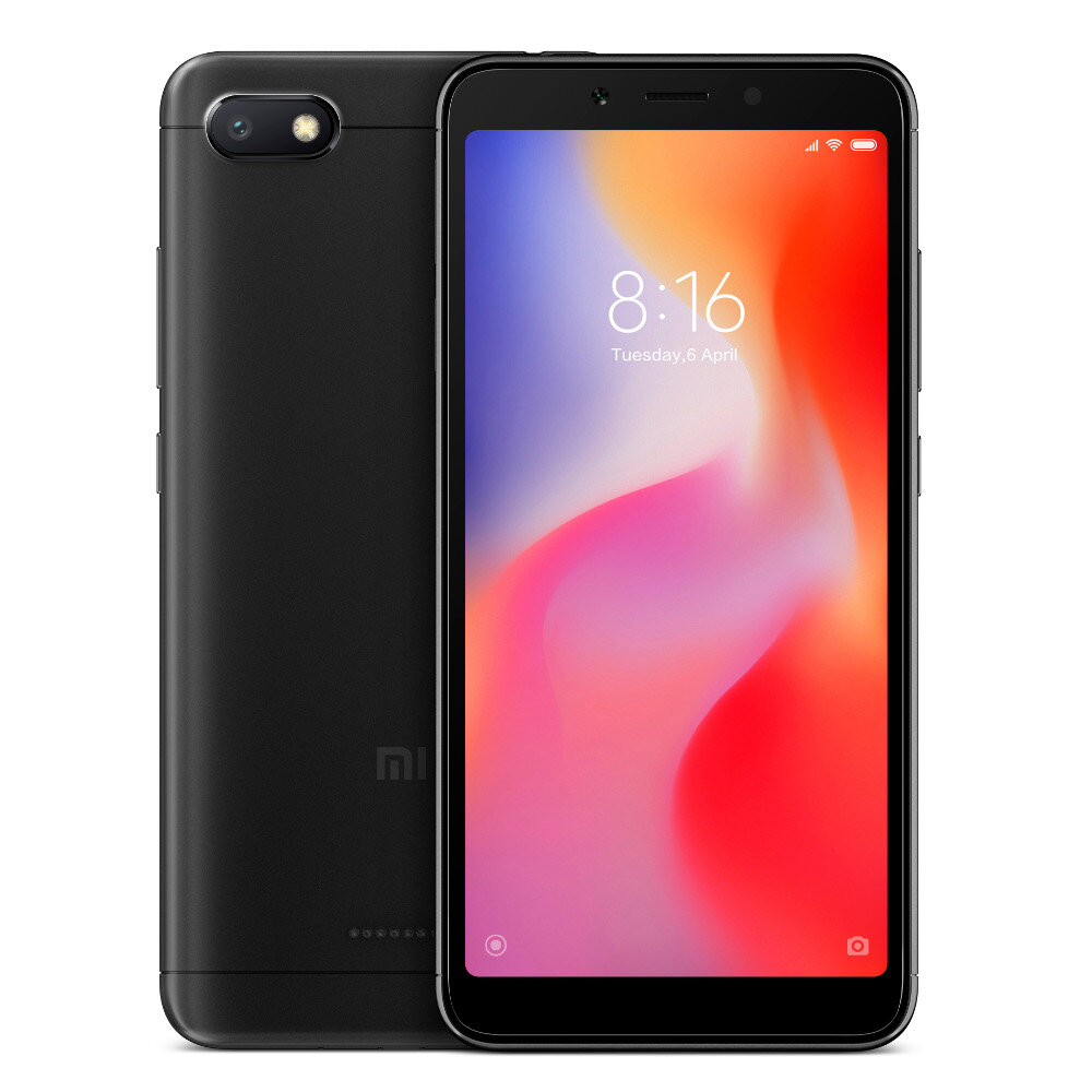 Xiaomi Redmi 6A Global Version 5.45 inch 2GB RAM 16GB ROM Helio A22 MTK6762M Quad core 4G Smartphone