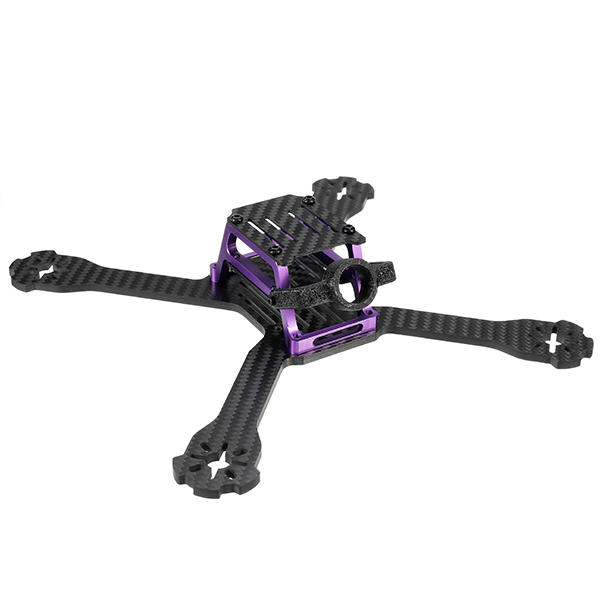 Realacc Hawks 220mm Carbon 4mm Arm RC Drone FPV Racing Frame Kit 89g