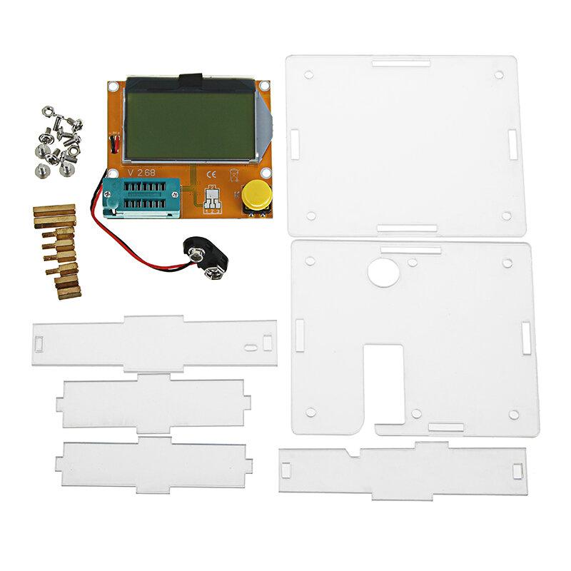 Geekcreit® LCR-T4 Mega328 Transistor Testeur Diode Triode Capacité ESR Mètre Avec Shell