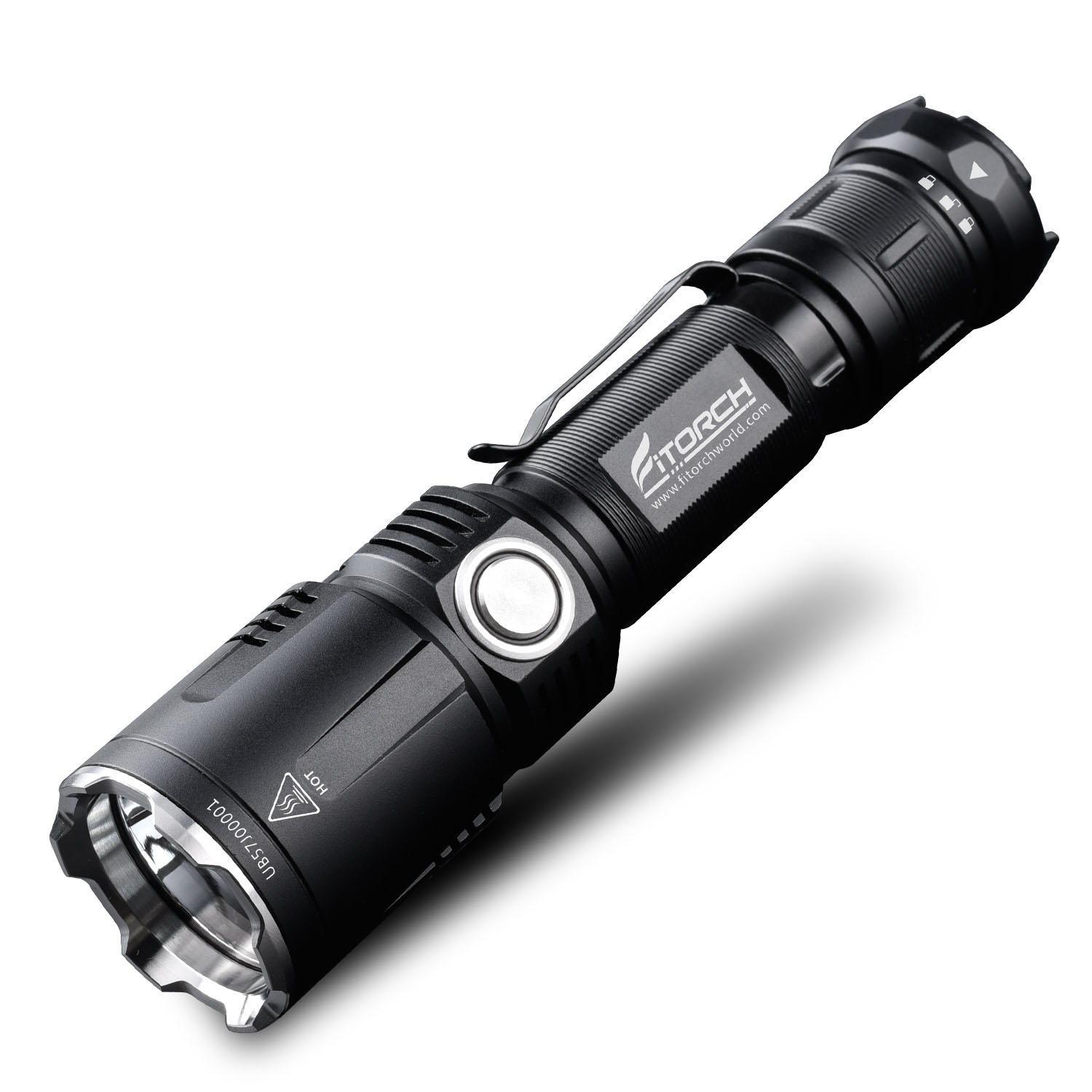 Fitorch M30R XHP35 HD 1800LM 6Modes Dimming USB Tactical LED Flashlight & Mobile Power Bank