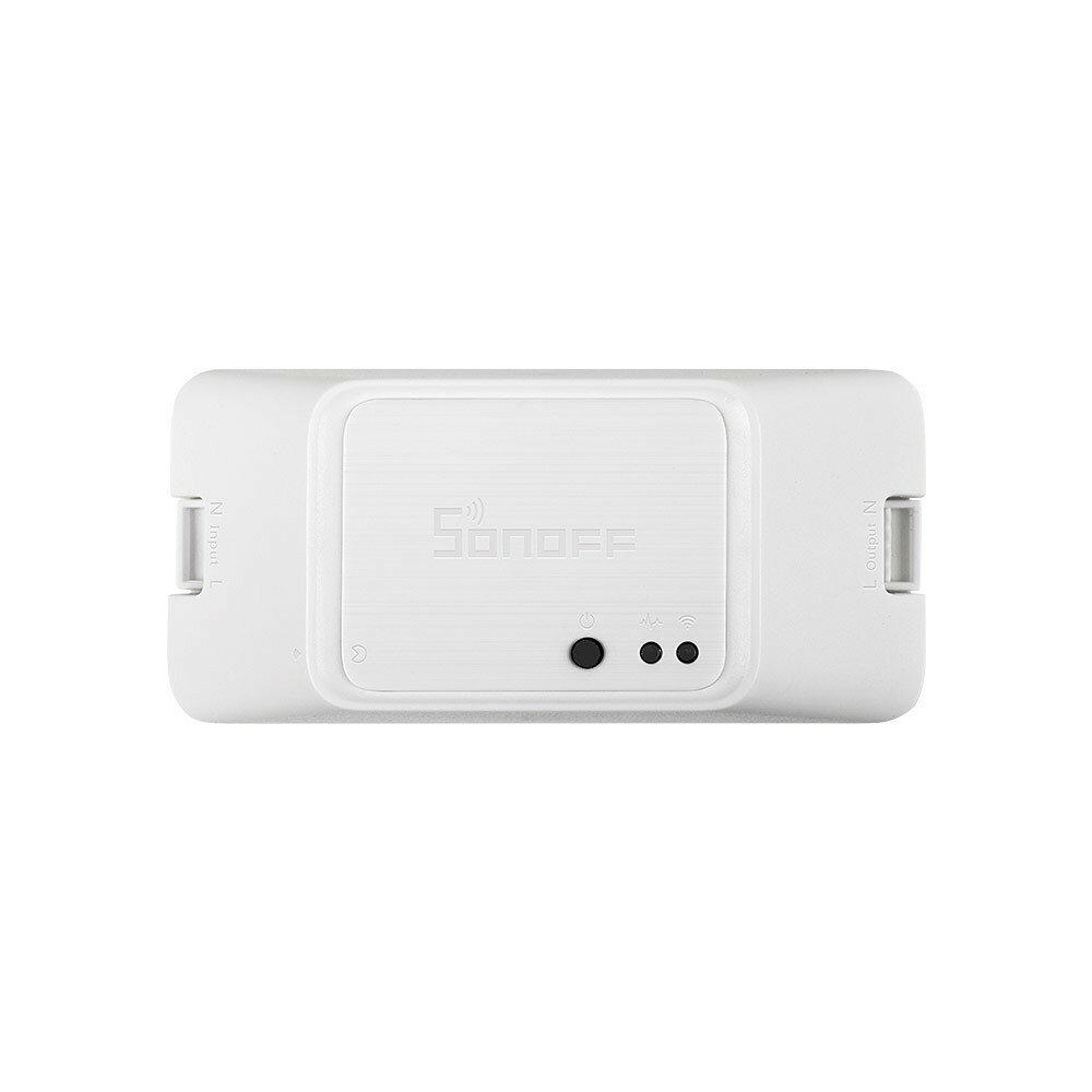 SONOFF® RF R3 Smart Switch ON / OFF Compatibilidad con WiFi APP / 433 RF / LAN / Voz Control remoto DIY El modo funciona con Alexa Página principal de Google