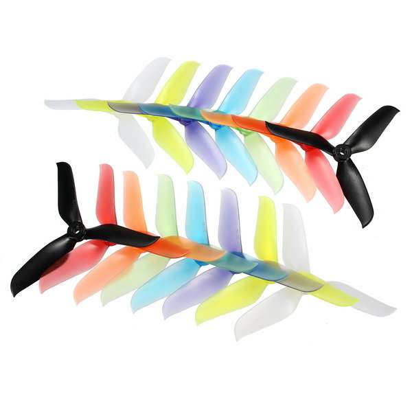 10 Pairs Racerstar 5048 5x4.8x3 3 Blade Racing Propeller 5.0mm Mounting Hole for FPV Racer