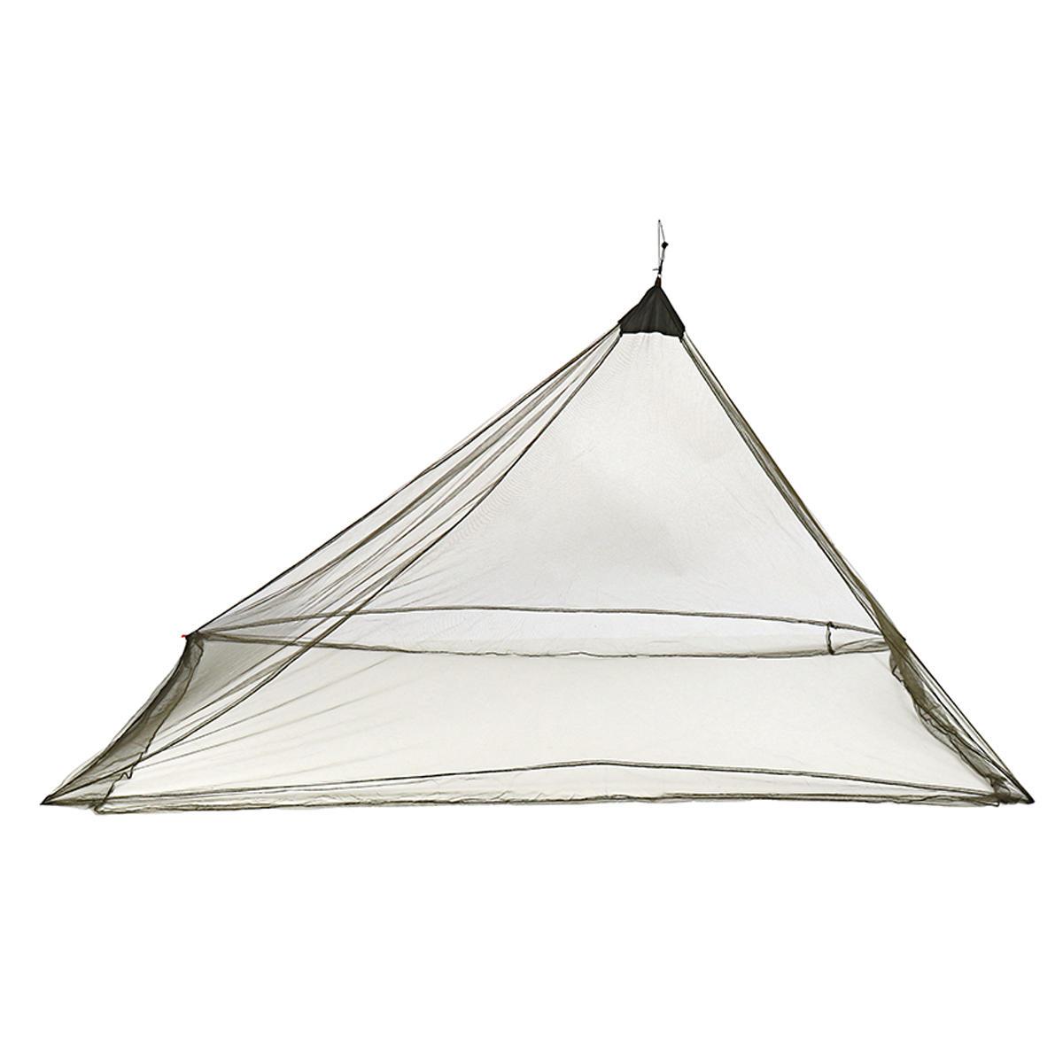 Moustiquaire portatif léger extérieur de moustiquaire de tente de moustique de filet de moustiquaire de camping