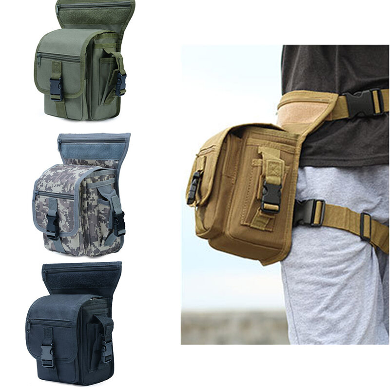 Camping & Hiking Useful Multifunction Outdoor Camping Hiking Tactical Phone Bag Men Camouflage Waist Bag Hook Loop Belt Pouch Oxford Cloth Mobile Case Low Price Climbing Bags