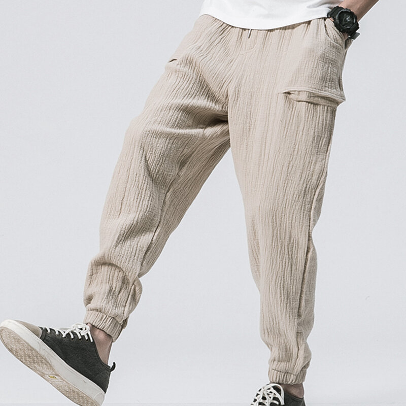Baggy Joggingbroek Mannen.Baggy Vintage Joggingbroek Voor Mannen In Joggingbroek Met Trekkoord