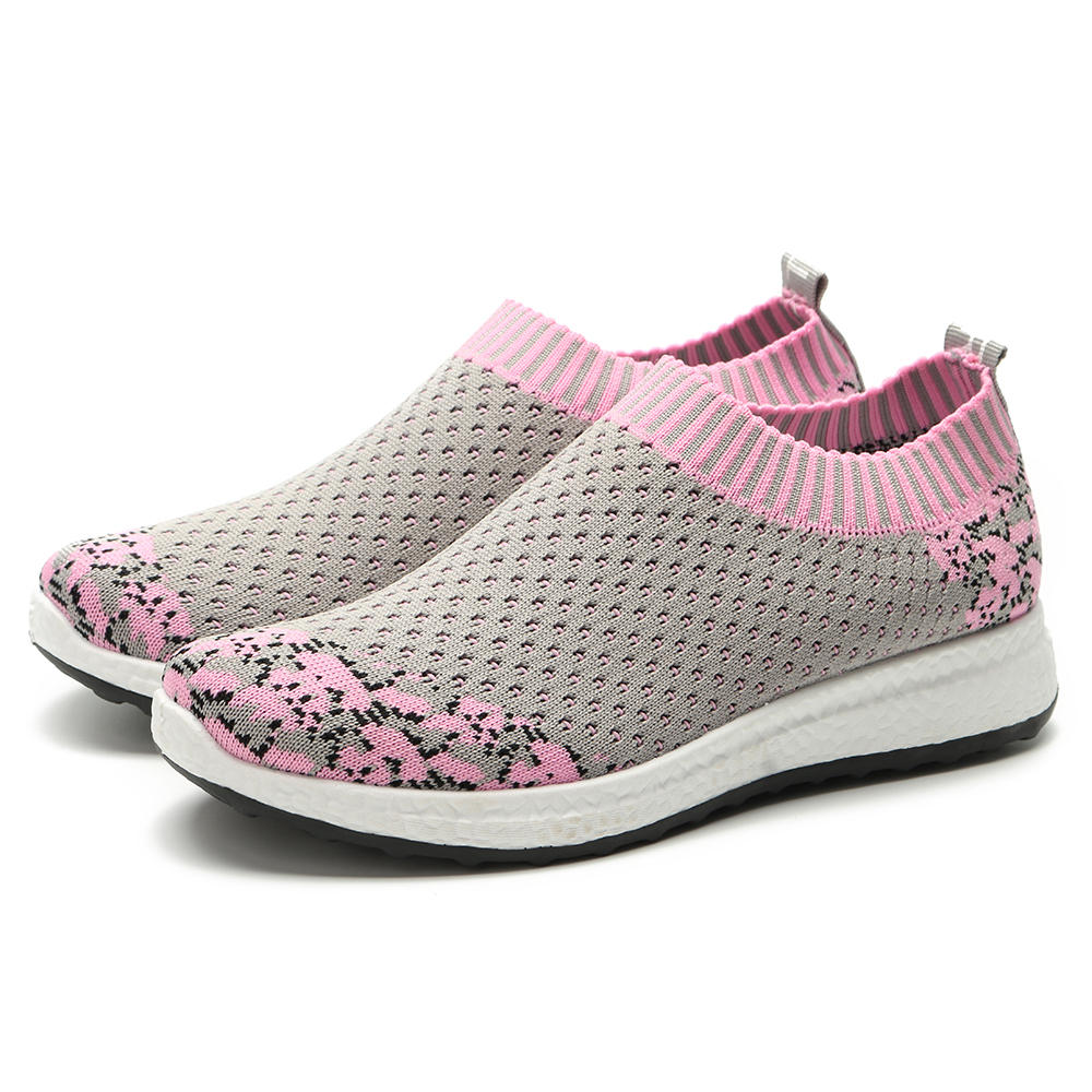 Large Size Outdoor Sport Shoes Breathable Women Sneakers