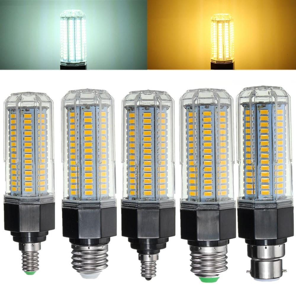 E27 B22 E26 E12 E14 15W 5730 SMD LED Ampoule Corn Light Non dimmable AC110-265V