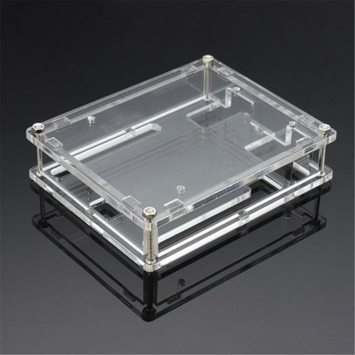 Transparent Acrylic Shell Box For Arduino UNO R3 Module Case