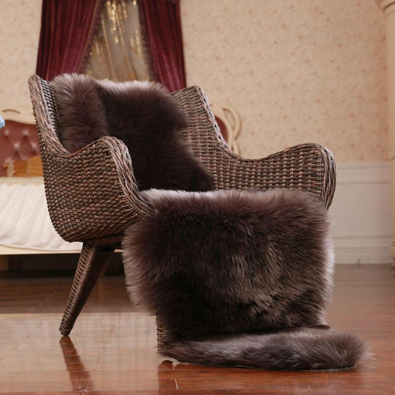 Honana WX-574 Imitation Wool Carpets Home Carpets Fur For Kids Room Living Room Warm Fur Carpets