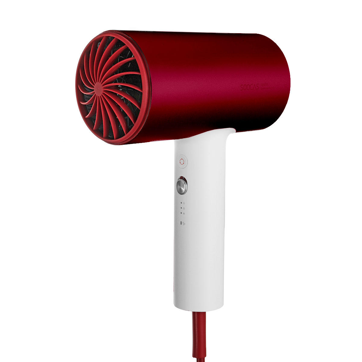 Xiaomi SOOCAS H3S Anion Hair Dryer Negative Ion 360-degree Rotatable Red Quick Dry Hair Dryer
