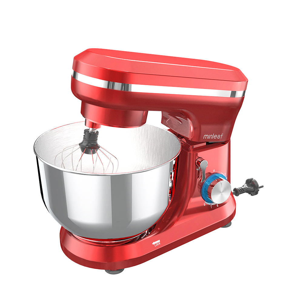 Minleaf  ML-SM1 4.5L / 1000W Professional Electric Food Mixer Multifunction 8 Speed Kitchen Food Blending Machine Dough Machine Egg Beater
