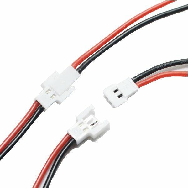 10ペア  1Sバッテリー 充電ケーブル  オス&メス