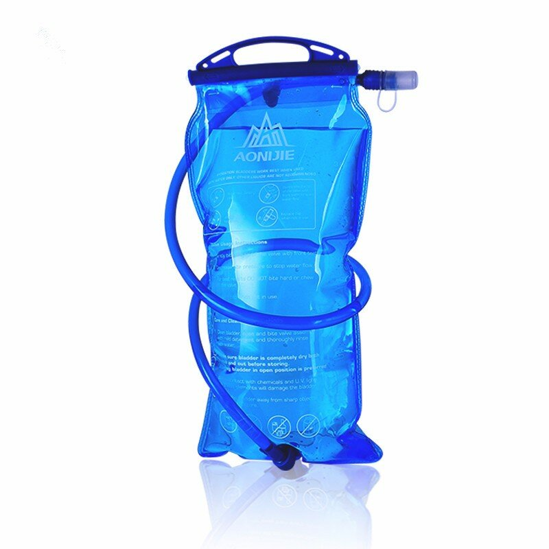 AONIJIE Outdoor Bike Running Foldable PEVA Water Bag Sports Hydration Bladder For Camping Hiking