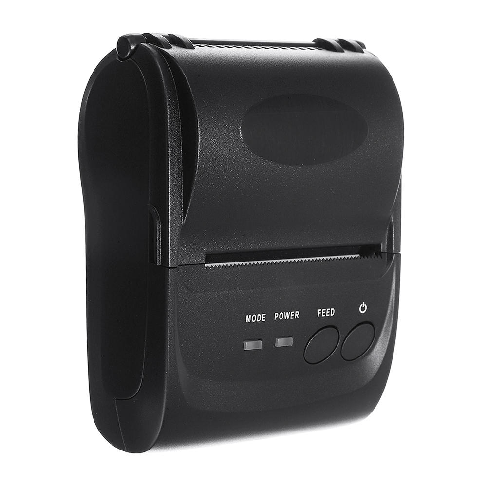 Mini Portable USB 58mm BT Thermal Printer POS Receipt Printer Barcode Printer for iOS Android Window