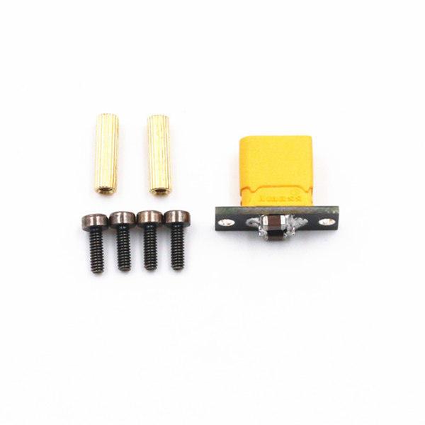 DIY XT30 Fixe Siège XT30 Connecteur et Conseil de Soudage Intégré Condensateur de Filtration pour pour RC Drone FPV Racing