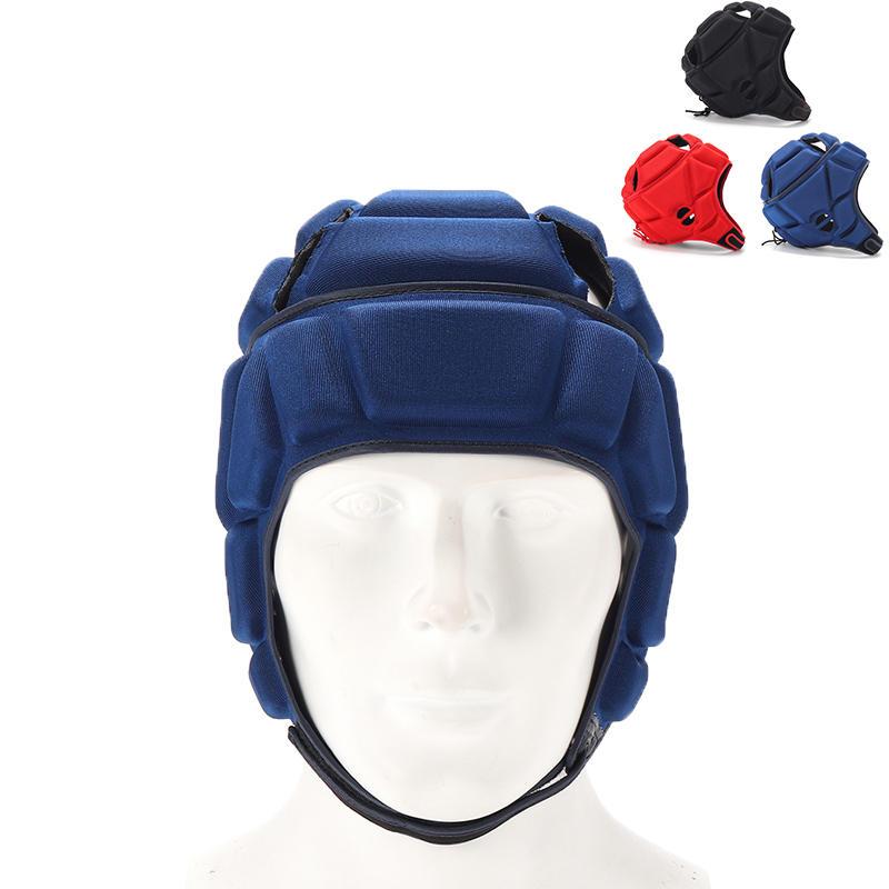 Adjustable Sports Headgear Football Rugby Ice Hockey Baseball Safety Helmet Sport Protective Guard