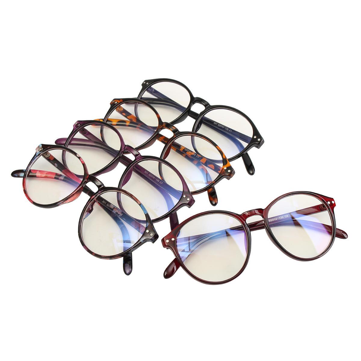 7a1011ef96 gafas redondas vintage gafas de marco retro de la lente clara Venta ...