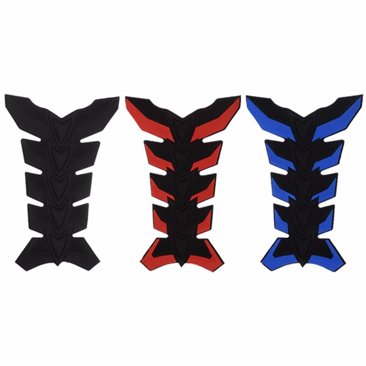 3d Rubber Fuel Tank Pad Protector Sticker Decal Motorcycle Motor Bike Modified