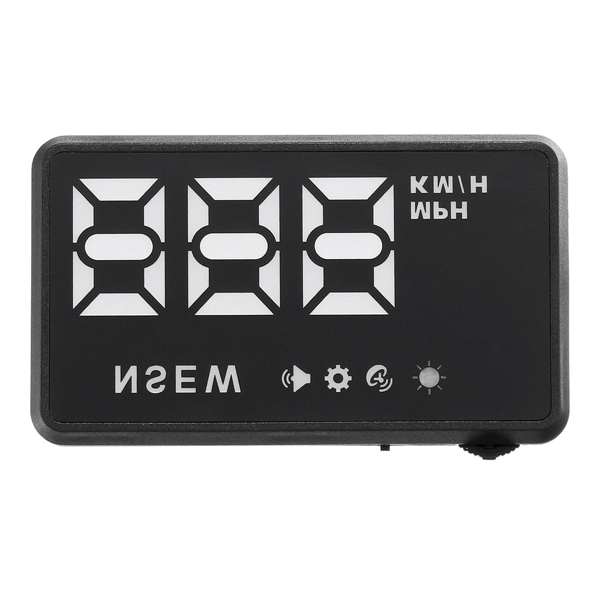 Universal Car GPS Head Up Display HUD Speed ​​Alarm Digital Wind Shield Projector