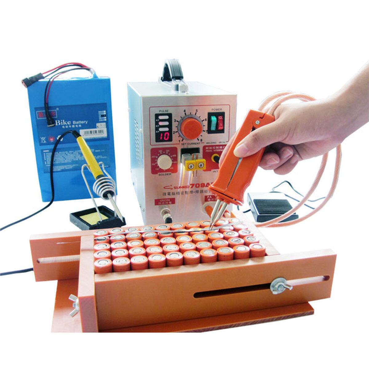 DX50A 220V High Power Pulse Laser Spot Welder Soldering Welding Touch Machine