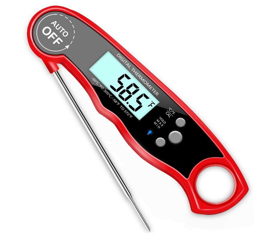 Waterproof Digital Meat Thermometer Super Fast Instant Read Thermometer BBQ Thermometer