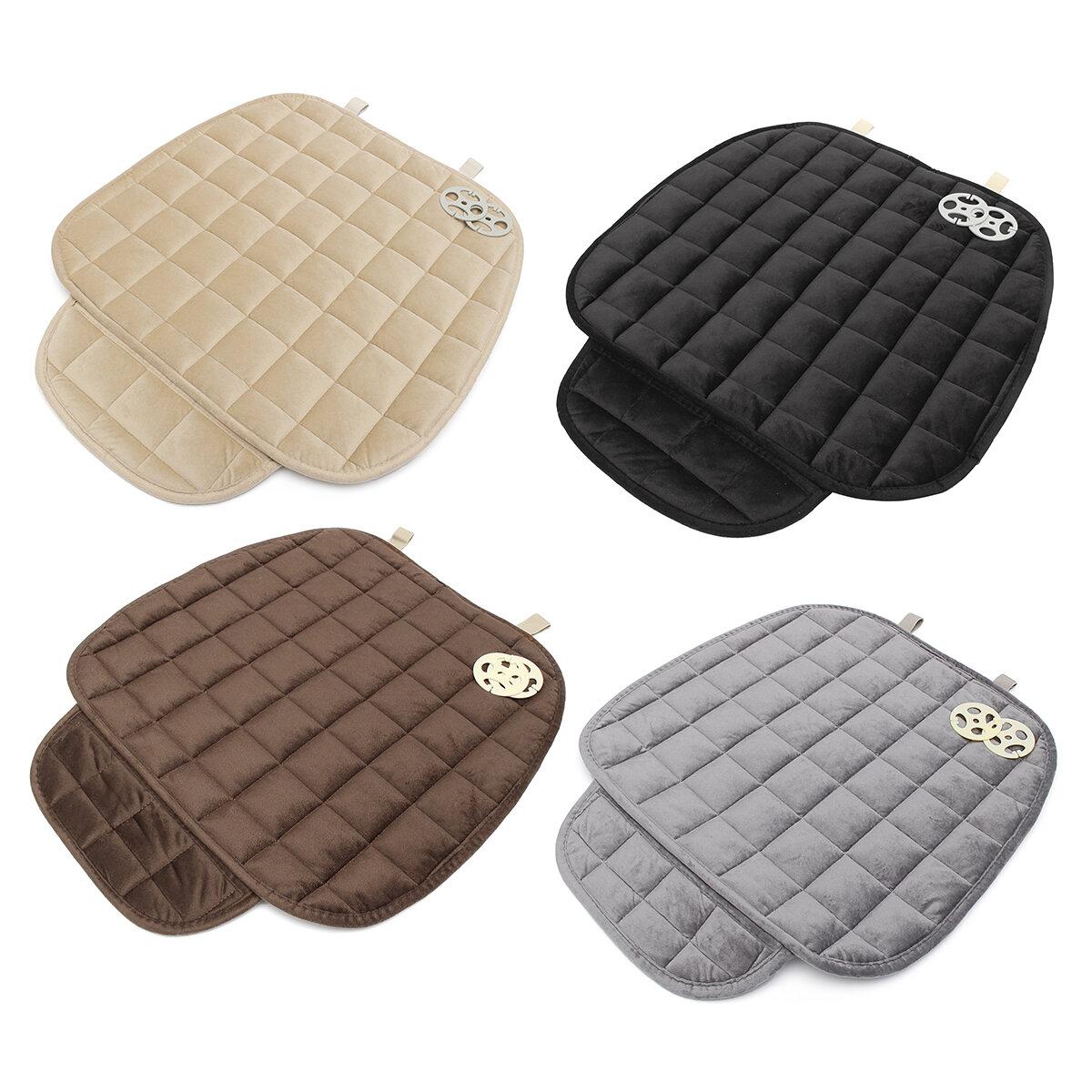 Universal Square Wistiti Sponge Front Row Car Seat Cover Small Mat Auto Chair Cushion