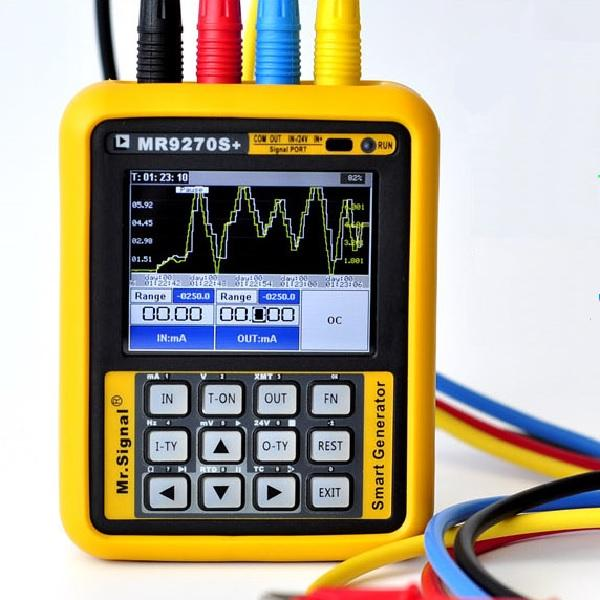 Upgraded MR9270S+ 4-20mA Signal Generator Calibration Current Voltage PT100 Thermocouple Pressure Transmitter Logger PID Frequency