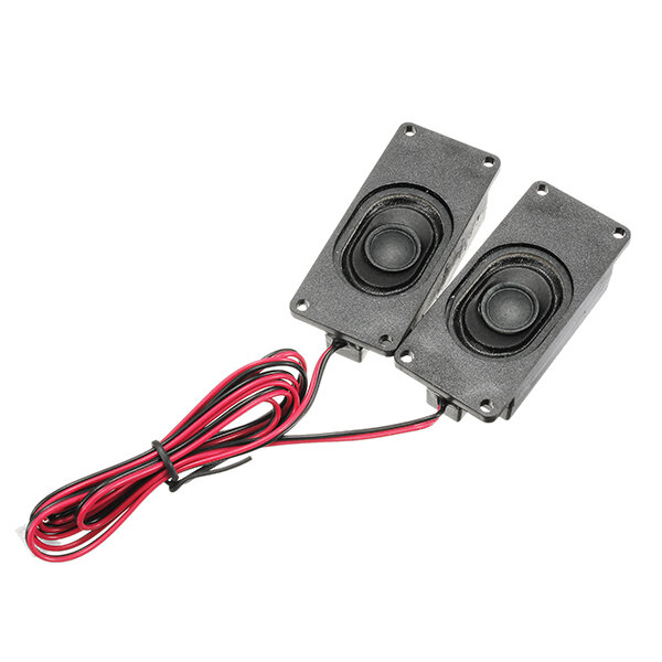 1 Pair 4 Ohm 3W LCD Panel Speaker Amplifier Audio Frequency Output For V29 / V56 / V59