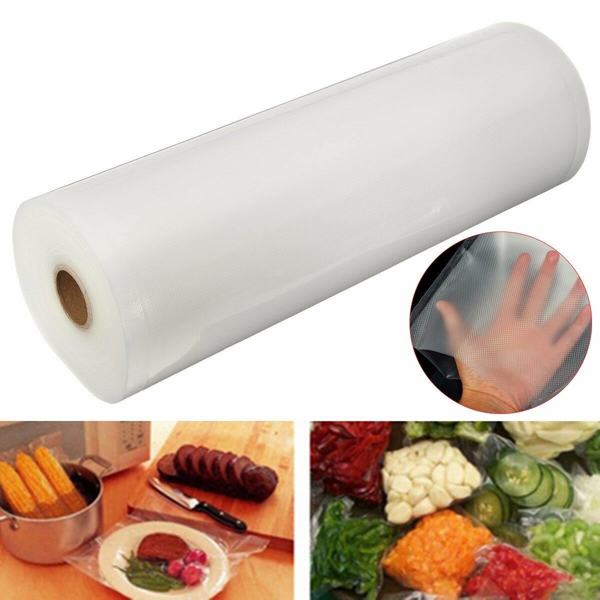 Big size 28x1500cm vacuum sealing roll bag storage food saver big size 28x1500cm vacuum sealing roll bag storage food saver kitchen plastic heat seal bags freeze fandeluxe Choice Image