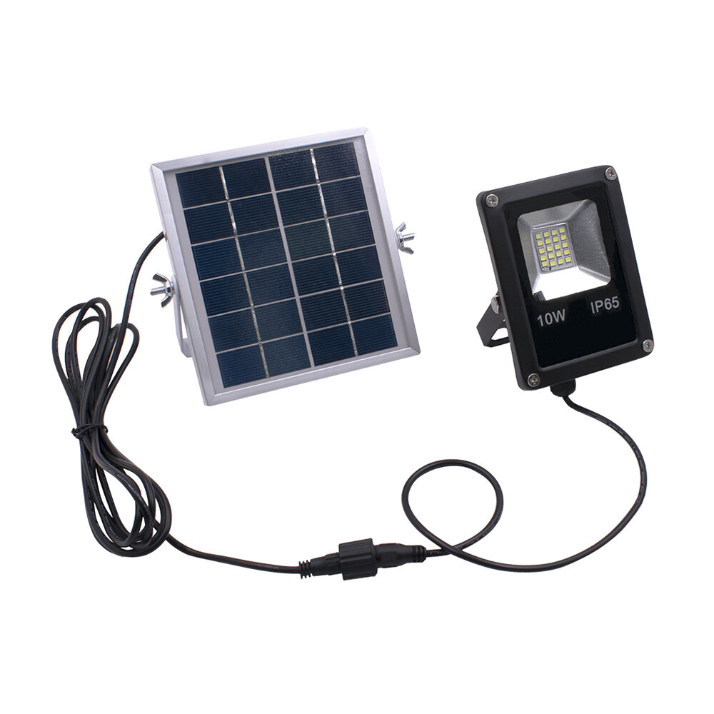 Solar Powered 10W 20LED SMD5730 Waterproof IP65 Remote+Timer+Light Control Flood Light