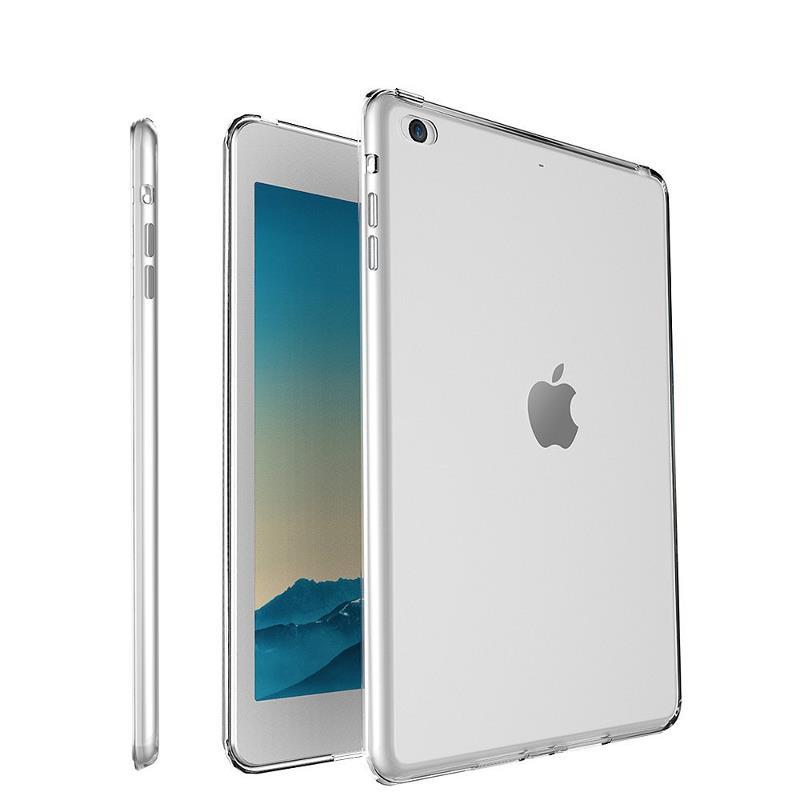 Şeffaf Şeffaf Soft TPU Kılıf iPad Hava / Hava 2 için