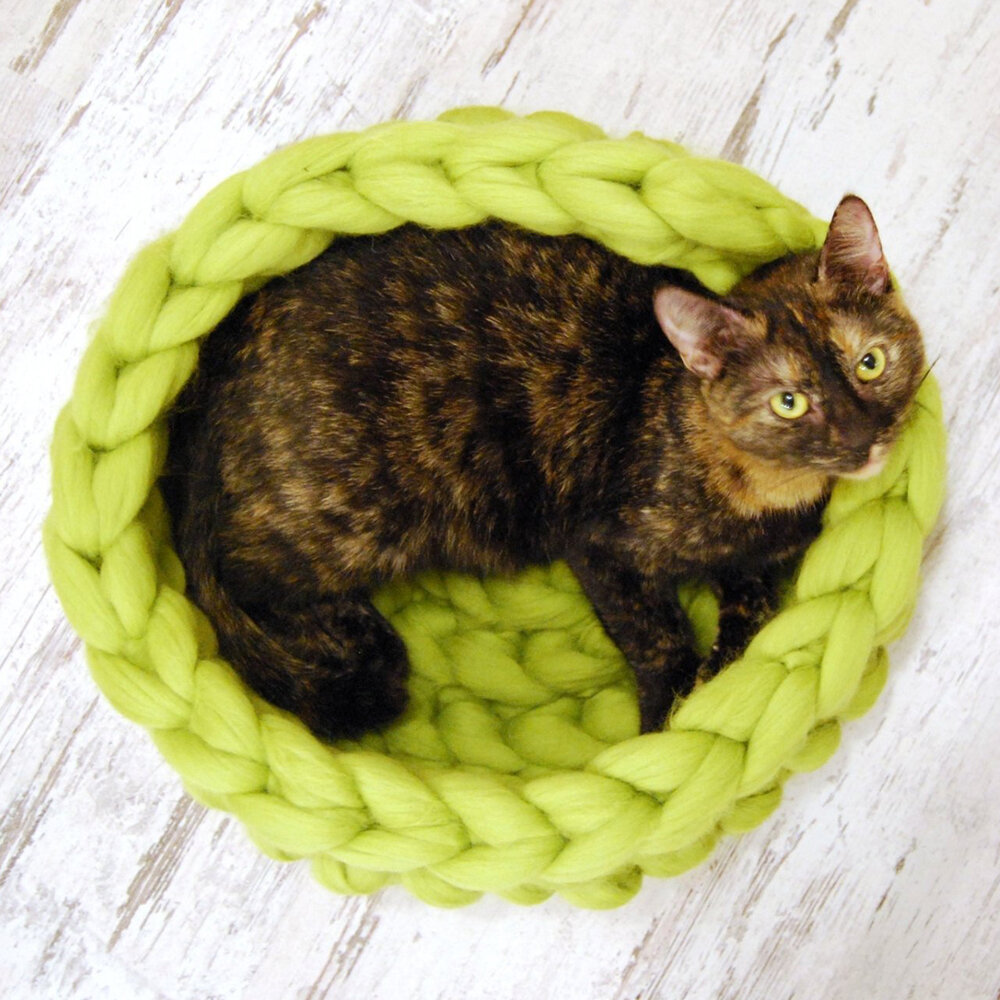 Knitted Pet Bed Dog Cat Bed Pu...