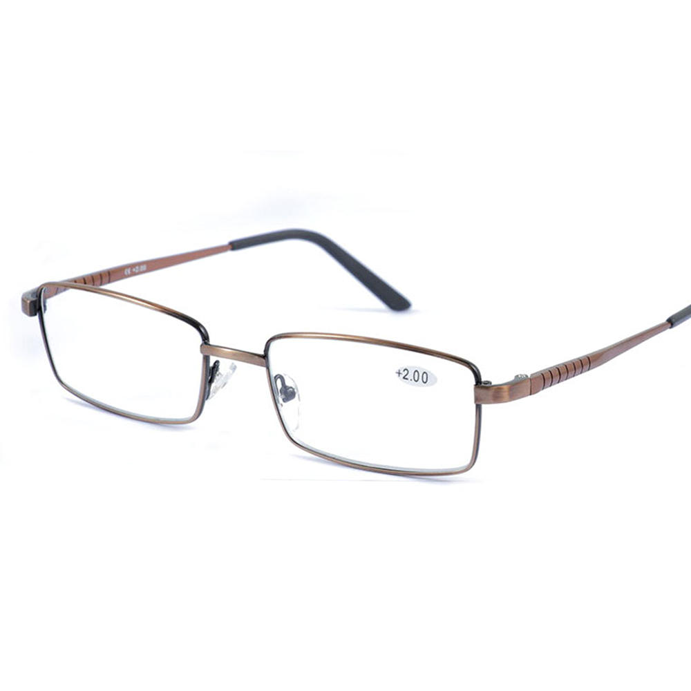 Mens HD Computer Readers Reading Glasses Lightweight Anti-fatigue Presbyopic Glasses