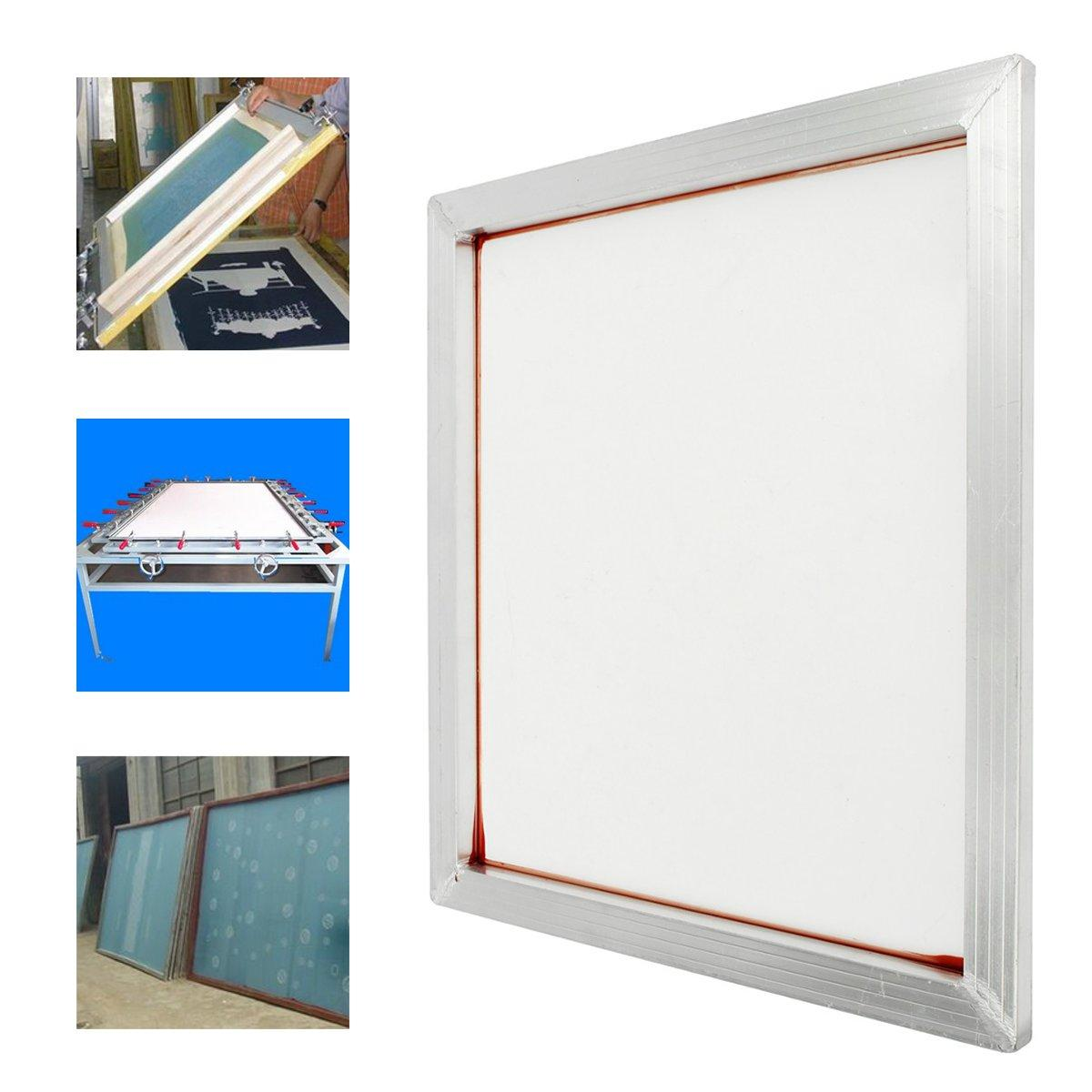 24''x20'' Aluminum Silk Screen Printing Press Screens Frame With 230 Mesh Count