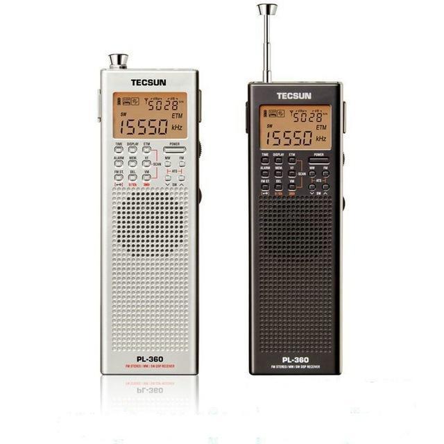 TECSUN PL360 Portable AM FM Shortwave PLL DSP ETM SW MW LW Pocket Digital Radio Receiver