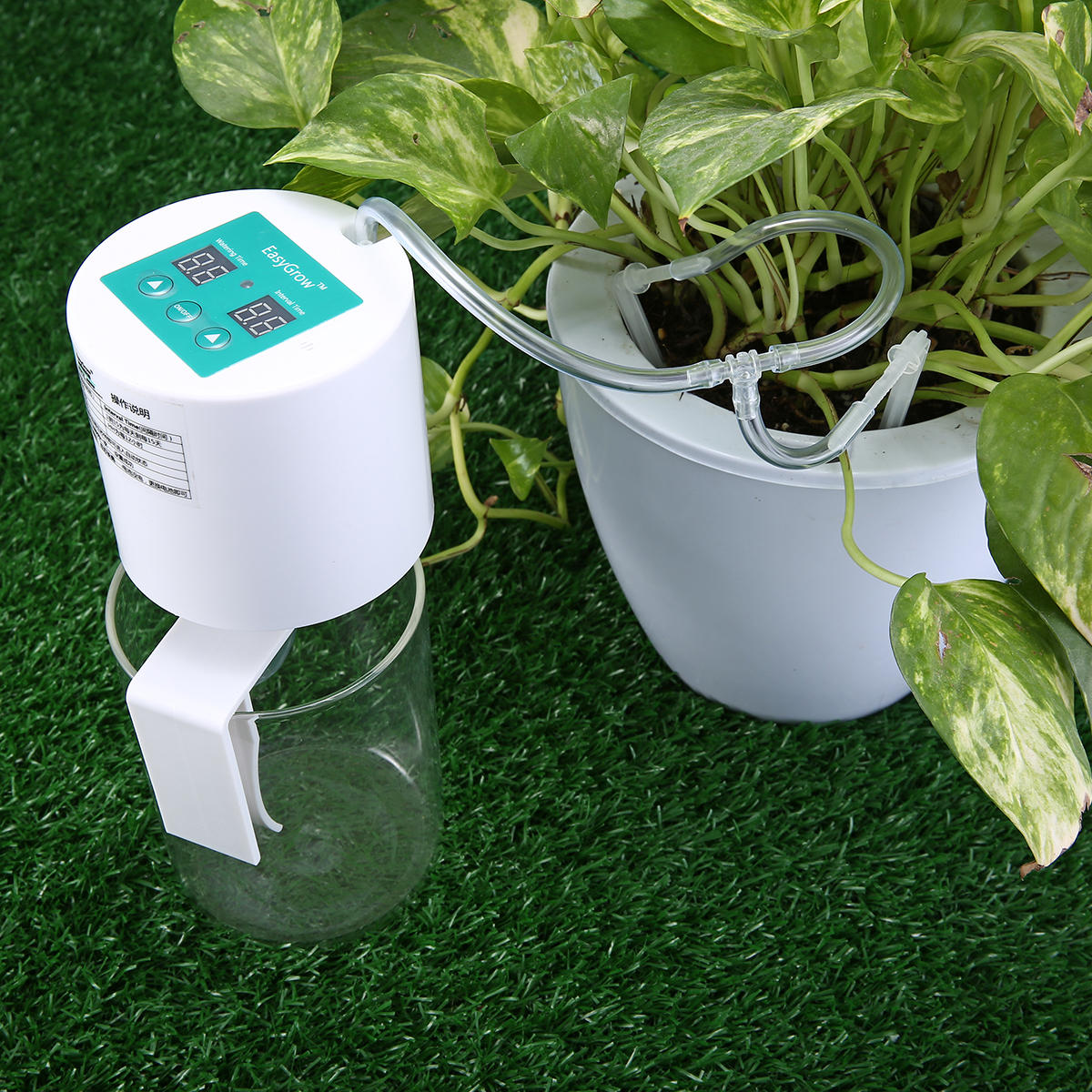 Garden Drip Irrigation Kit Auto Self Watering System Indoor Vacation Bonsai Plant Watering Timer