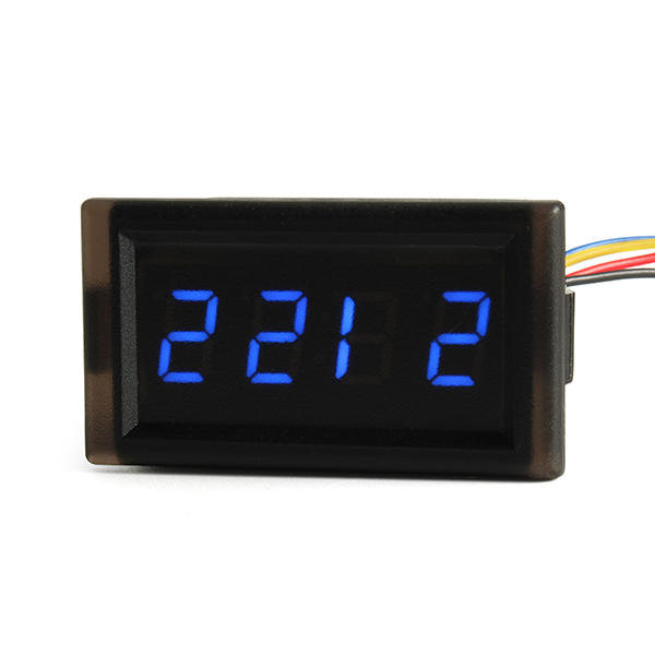 Automotive Electronic Clock DIY Creative LED Digital Vehicle Clock Waterproof Luminous Clock