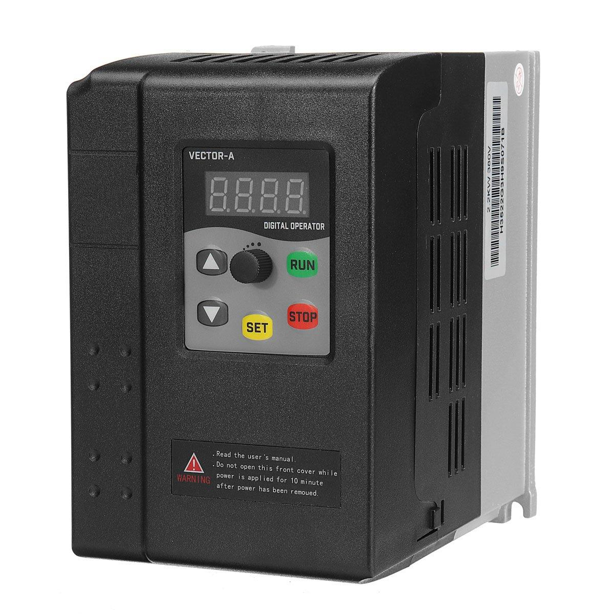 2.2KW 3HP 380V 5A 3 To 3 Phase Variable Frequency Inverter Motor Drive VSD VFD