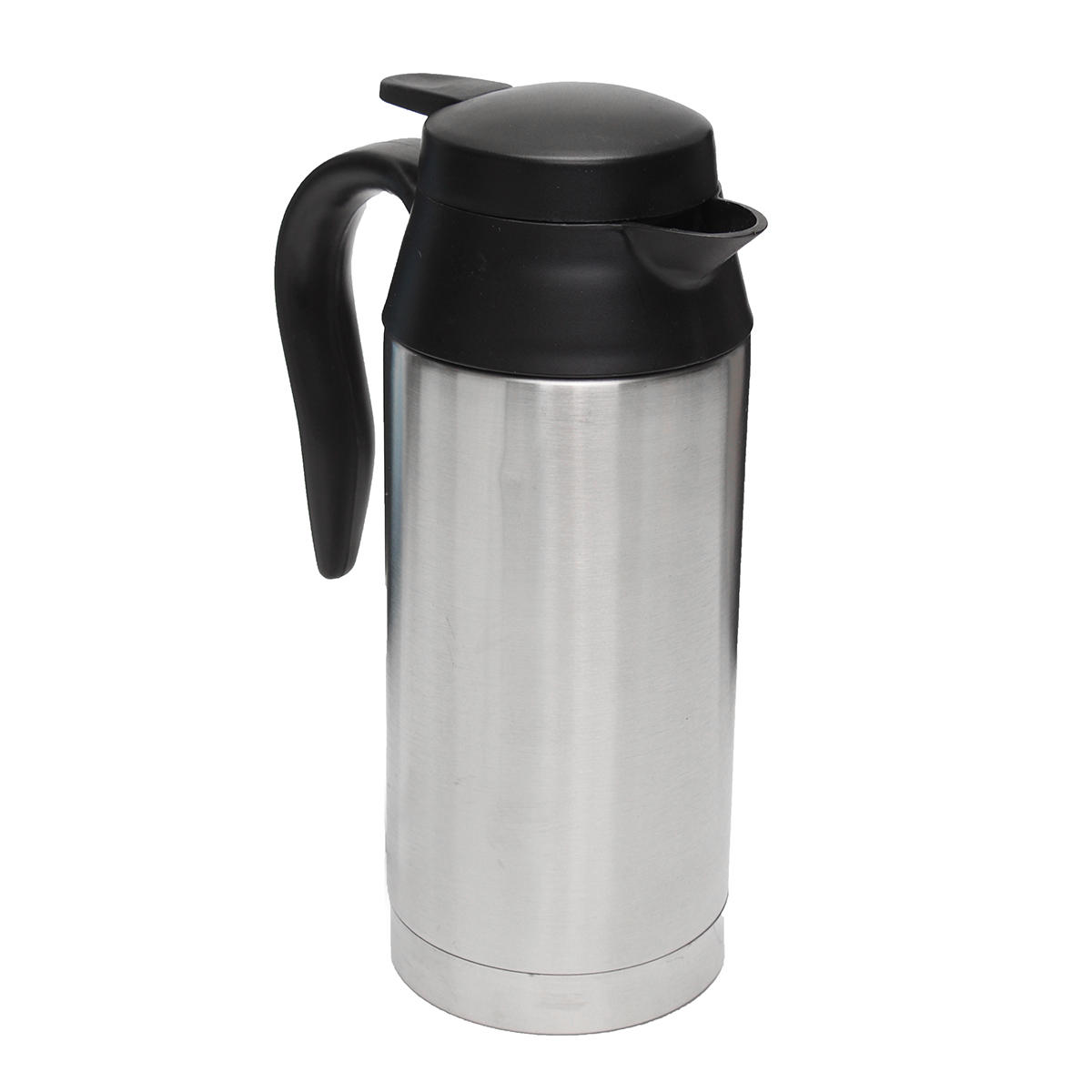 12v 750ml Stainless Steel Electric In Car Kettle Travel Heating Water Bottle Cod