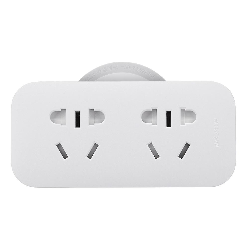 XiaomiMijiaPowerStripTomada5 Posição de Carga 5 Dígitos de Controle Independente Home Strip Power Tomada Faixa